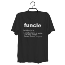 Funny Holiday Gifts NZ - FUNNY UNCLE FUNCLE DEFINITION GIFT FOR HUMOR HOLIDAY CHRISTMAS SHIRT ZM1Funny free shipping Unisex Casual Tshirt top