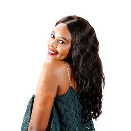 Peruvian Women Hair UK - On sale silk top Front Lace water wave Brazilian Wig Human Hair Vrigin Natural Color for black women No tangle long lasting