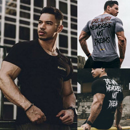 $enCountryForm.capitalKeyWord Australia - Men Summer T Shirt Short Sleeve Gym Sports Slim Fit O Neck Solid Top Tee Shirt