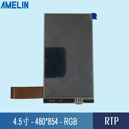 Tft Lcd Touch Screen Module Australia - 4.5 inch 480*854 tft lcd module Screen with RGB interface screen and RTP touch panel
