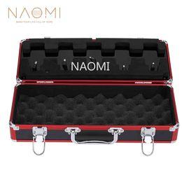 Metal Effect Pedal Australia - NAOMI Aroma Guitar Effect Pedal Case APB-3 Guitar Effect Pedal Carry Case Box Total Metal Locking Case For Electric Guitar