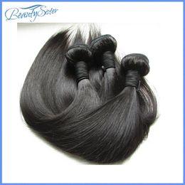 brazilian straight hair products 2019 - beauty Hair Products nice quality 9a brazilian virgin hair silk straight 100% remy human hair weaves 3bundles 300g lot n