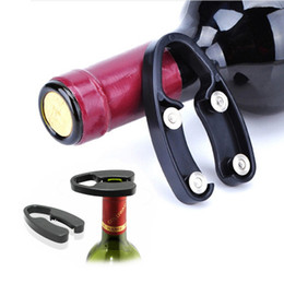 Black Cutters Australia - 2019 Free shipping Original Electric Wine Opener Corkscrew Automatic Wine Bottle Opener Kit Cordless With Foil Cutter And Vacuum Stopper