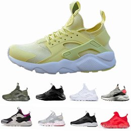 China 2017 New Design Huarache 4 IV Running Shoes For Women & Men, Lightweight Huaraches Sneakers Athletic Sport Outdoor Huarache Shoes 36-46 cheap lightweight boots for men suppliers