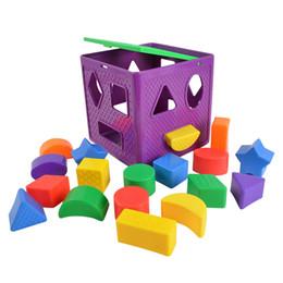 $enCountryForm.capitalKeyWord UK - toys BOHS Shape Sorting Cube Geometric Shapes Sorters Baby , with 18 Blocks and 1 Cube