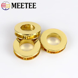 quality d rings Australia - Meetee High quality Metal circular Round screw eyelet O D Ring Bucklce For handbag luggage hardware accessories
