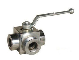 "Way Ball Valve Australia - Ball Valve Steel Hydraulic High Pressure G 1 1 4"" two position two ways stainless steel 7150psi"