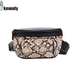 $enCountryForm.capitalKeyWord Australia - Women Waist Bag Fashion Leather Fanny Pack Serpentine Chest Bag For Girl Casual Bum Bags Female Travel Phone Pouch Belt Pack A63