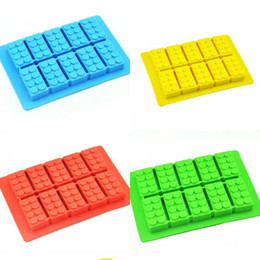 $enCountryForm.capitalKeyWord Australia - Novelty Creative Ice Mold Summer Silicone Molds Cool Refreshing Building Blocks Style Pattern Die Hot Selling 2 8yna L1
