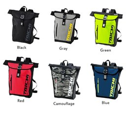 carrier cycling Australia - Six Colors TAICHI Cycling racing bags Large capacity Waterproof cycling backpack Zipper Buckles design Shoulder bags