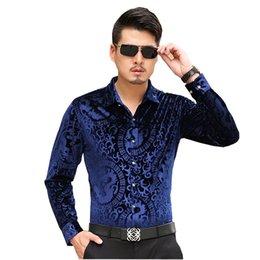 Bamboo Mens Shirt Australia - wholesale Men's Shirts British Style Long-Sleeve Shirts Male Slim Casual Clothes Mens Dress Shirt Masculina Camisa Vetement