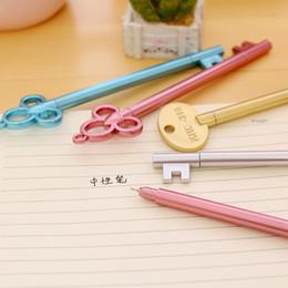 $enCountryForm.capitalKeyWord Australia - 4Pcs Set Gel Pens Set Key Kawaii School Supplies Office Stationary Albums Kawaii Pens School Stationery