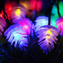 String Lights Decor Australia - AC110-220V 4M 20LEDs RGB LED String Lights Christmas Garland Garden Party Decoration Wedding Decor for the Hall Fairy Lights