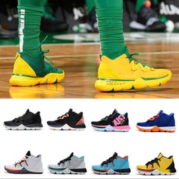 22f408d4791 2019 New Hot Sale Kyrie IV 5 Basketball Shoes Mens IV 5 Gold Championship  MVP Finals training Sneakers Sports Running Shoes Size 40-46