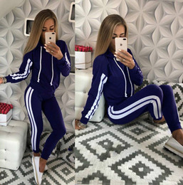 $enCountryForm.capitalKeyWord Canada - Women Clothes Two Piece Sets 2 piece woman set womens sweat suits joggers Plus Size foreign trade women's new sports and leisure set DH719