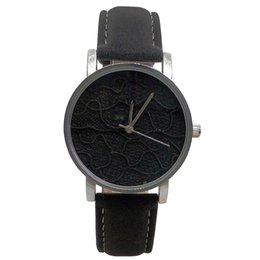 $enCountryForm.capitalKeyWord Australia - Nafisa Women's Hot Fashion Sexy Black Fancy Fabric Dial Silver Color Case Leather Strap Wrist Watch NA-180