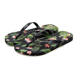 $enCountryForm.capitalKeyWord NZ - Flip-flops Women Wear Summer Slippers Students Flat Beach Drag Skid Feet Print Sandals and Slippers Soft Bottom