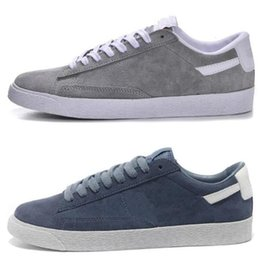 sports shoes ce355 4e01b New Colors Blazers Studio Skate Shoes Pioneer 10X MID Sneakers Men And  Women Fashion Sports Shoes High Quality