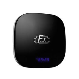 Android Tv Amlogic UK - A95X F1 Android 8.1 Amlogic S905W TV Box 1GB8GB 2GB16GB Quad Core Suppot 4K 2.4GHz WiFi VS TX3 X96 mini