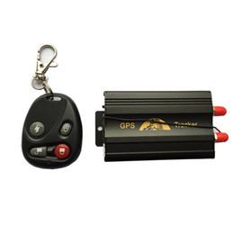 Car Remote Device Australia - COBAN GPS103B GSM GPRS GPS Auto Vehicle TK103B Car GPS Tracker Tracking Device with Remote Control Anti-theft Car Alarm System