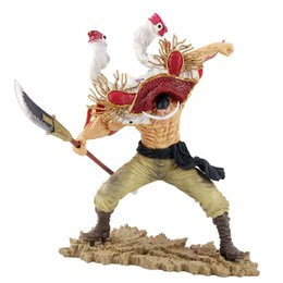 edward figure UK - One Piece Edward Newgate Figure Anime Figurine One Piece Edward Newgate Whitebeard Action Figure Collectible Model Toy T200413