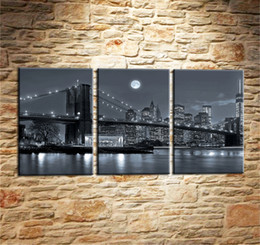 $enCountryForm.capitalKeyWord Australia - New York City,3 Pieces Canvas Prints Wall Art Oil Painting Home Decor (Unframed Framed) .