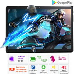 inch kids tablet pc android 2019 - BMXC 10.1 inch 4G LTE Phone tablet PC 10 Core RAM 4GB ROM 64GB tablets pcs 10 kids tablet inch GPS cheap inch kids table
