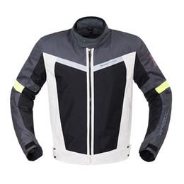 Motorcycle Protection Jacket Australia - Motorcycle Jacket Riding Racing Jacket Waterproof Reflective Body Armor Protective Gear Motocross Motorcycle Protection