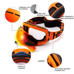 double lens ski goggles Canada - Ski Goggles Double Lens Uv400 Anti-fog Adult Snowboard Skiing Glasses Women Men Snow Eyewear