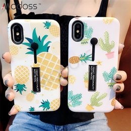 $enCountryForm.capitalKeyWord NZ - ZZYD TPU + PC Fruit Design Hybrid Ring Grip Kickstand Holder Cell Phone Cases Covers For Iphone X XS XR XS MAX