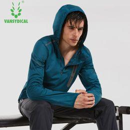 $enCountryForm.capitalKeyWord Australia - Hot Sweat Shapewear Sports Clothing Men Running Jacket Men Sports Jacket Sportswear Fitness Gym Reflective Windbreaker