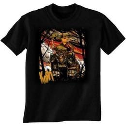 Band Clothes For UK - 2018 New Fashion Brand Clothing Design Tee Shirt Korn Rilla Shirt M L XL XXL Official T-Shirt New Band Logo Tee Shirt For Men