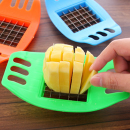 Fry Cutters Australia - French Fry Potato Chip Cutter Vegetable Fruit Slicer Chopper Chipper Blade Kitchen Tools