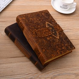 $enCountryForm.capitalKeyWord Australia - 2019 New Vintage Leather Notebook Weekly Daily Planner Notepad for Kids Gift School Office Supplies Student Stationery