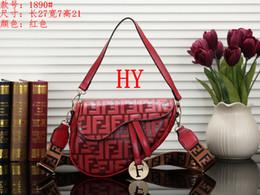 $enCountryForm.capitalKeyWord Australia - New designer womens handbag fashion letter shoulder bag high quality genuine leather Messenger Clutch Purse luxury saddle bag 00