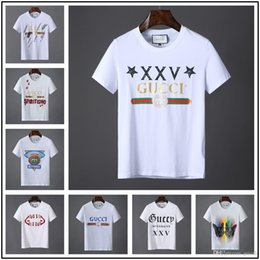 f7096e449 18ss 2019 Fashion Hand-painted colorful Tree Design Men T shirt Short  Sleeve t-shirt Hipster Printed tees Cool Tops
