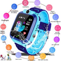 Best smart watches ios online shopping - Child Smart Watch Intelligente Locator Tracker Anti Lost Remote Monitor GPRS GSM GPRS Wrist Watch Best Gift For Children Kids