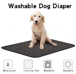 Water diapers online shopping - Reusable Diapers for Dog Urine Water Absorbency Diaper Sleeping Bed for Small Dog Pet Absorbent Mat Puppy Training Pad