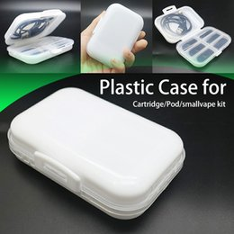 $enCountryForm.capitalKeyWord Australia - High Quality Cartridge Pods Case easy carry plastic case for cartridges pod small vape pen heating coil vape