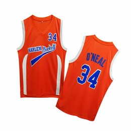 0b3a1e4b16ae Free shipping NCAA COSPLAY movie with the same paragraph basketball orange  34th sleeveless embroidery jersey high quality GOOD