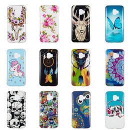 $enCountryForm.capitalKeyWord Australia - Fluorescence Back Case For Samsung J2 Core Transparent Soft TPU Pug Dog Owl Unicorn Deer Animal Flower Butterfly Glow in Darkness(J2 Core)