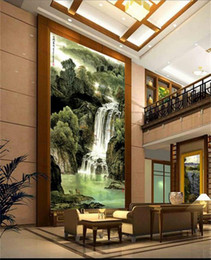 $enCountryForm.capitalKeyWord Australia - custom size 3d photo wallpaper living room mural forest waterfall chinese picture porch backdrop painting wallpaper non-woven wall sticker