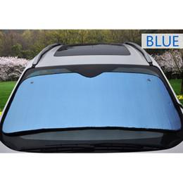 Discount reflective windshield shade - Car Windshield Sunshades Reflective Shades Car Styling Auto Windshield Sunshade Visor Dashboard Cover Block