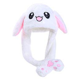 $enCountryForm.capitalKeyWord Australia - Dance Ears Rabbit Hat Beanie Airbag Cap Cute Cartoon Fashion Funny Plush Animal Ear Moving Jumping Toys Party Decoration