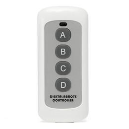 $enCountryForm.capitalKeyWord Australia - 433MHz 4 Button EV1527 Code Switch Wireless RF Transmitter Key For Smart Home Garage Door Opener Learning Model Remote Control