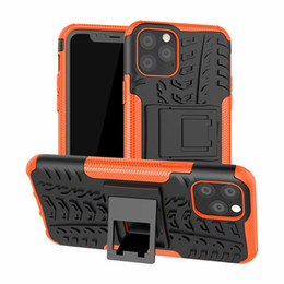 Tyre case online shopping - Tyre Hybrid KickStand Impact Rugged Heavy Duty TPU PC Shock Proof case Cover for iphone PRO PRO MAX
