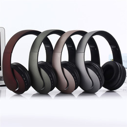 wireless radio headphone Canada - KD23 Bluetooth Wireless earphone Headphones Headband TF Card Radio Bests Support Comfortable Gaming Headset Stereo HIFI for Android Universa