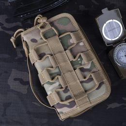 $enCountryForm.capitalKeyWord Australia - Camo Tactical Hand Bag Wallet Outdoor Camping Travel Wearproof Nylon Lightweight Tactics Accessory Bag Military Gear Handbag
