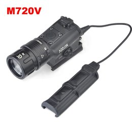 Wholesale SF M720V Tactical weapon Light Scout Light Strobe Version Airsoft Combat Hunting Flashlight Light Equipment EX273