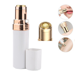 ladies body hair removal NZ - Lipstick Electric Shaver Mini Trimmer Body Hair Removal Razor Women Facial Epilator Lady Shaving Hair Remover Depilation Machine Armpits